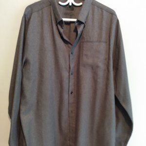 North face button up shirt with pockets size large